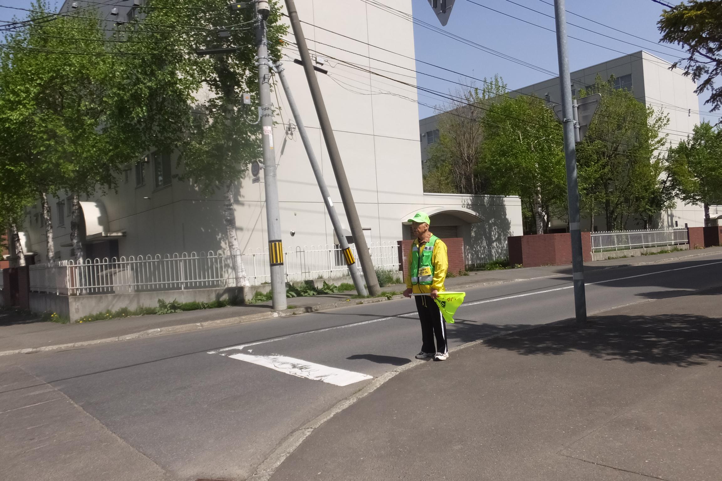 町内交通パトロール(毎週火曜・木曜実施)