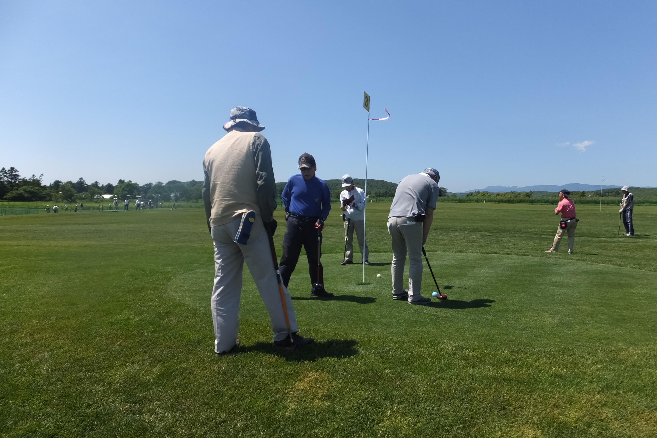 輪厚国際ゴルフコース「パークゴルフ大会」(2015.6.21)