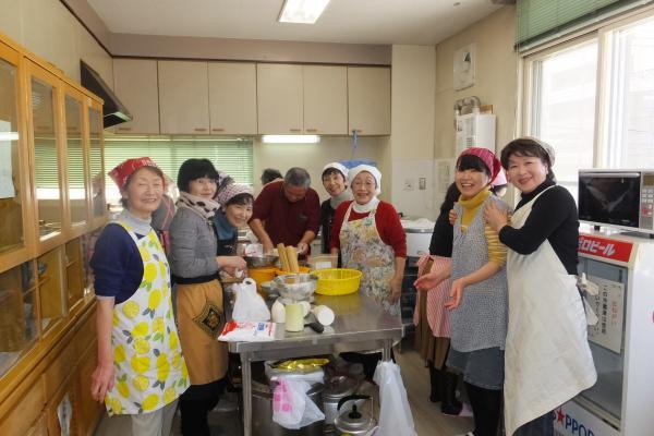 婦人部「お正月に使える料理教室」(2015.12.19)