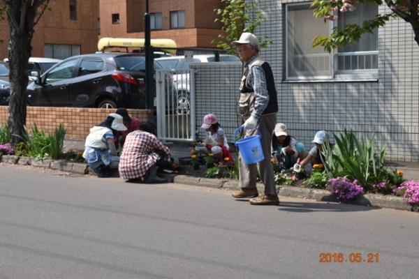 環境部「春の町内美化活動」(2016/5/21)