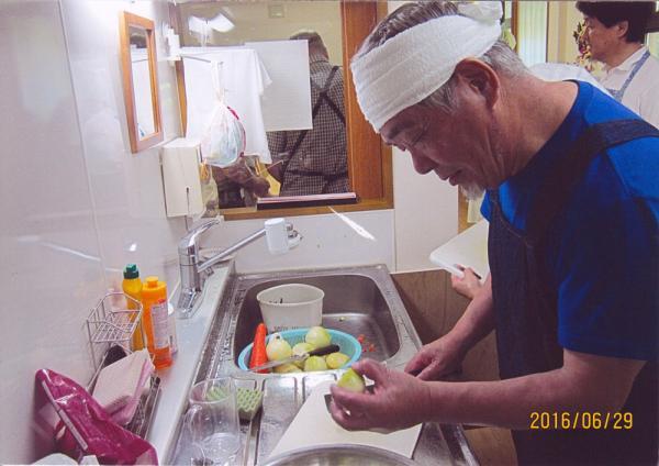 2016.6.29 男性のための料理教室