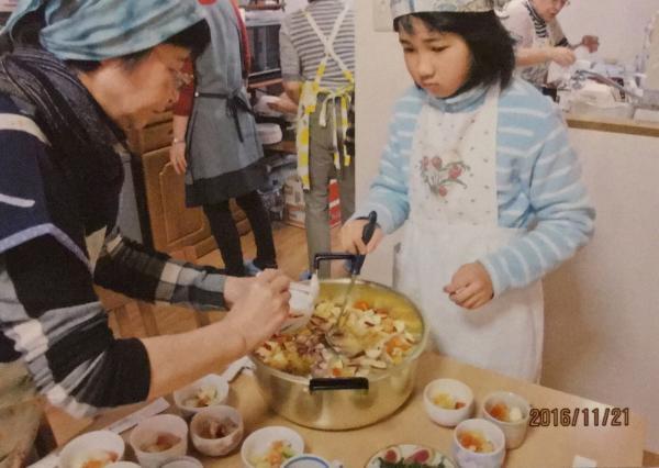 2016.11.21 女性部主催 料理教室