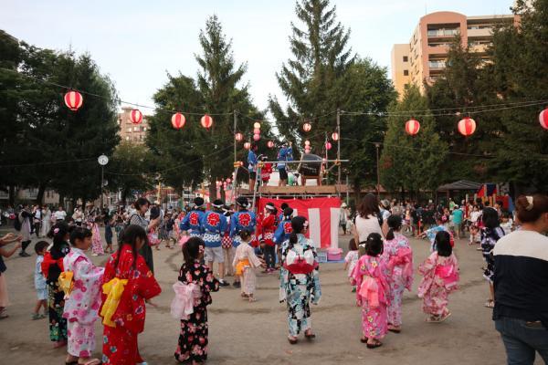 2017.8.7〜8.8 伏見公園 納涼盆踊り