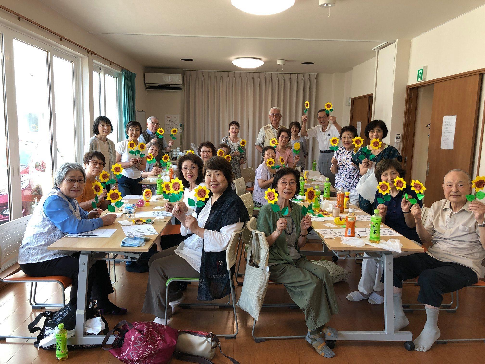 2019.7.11 おりがみで脳活&カスタネット演奏会