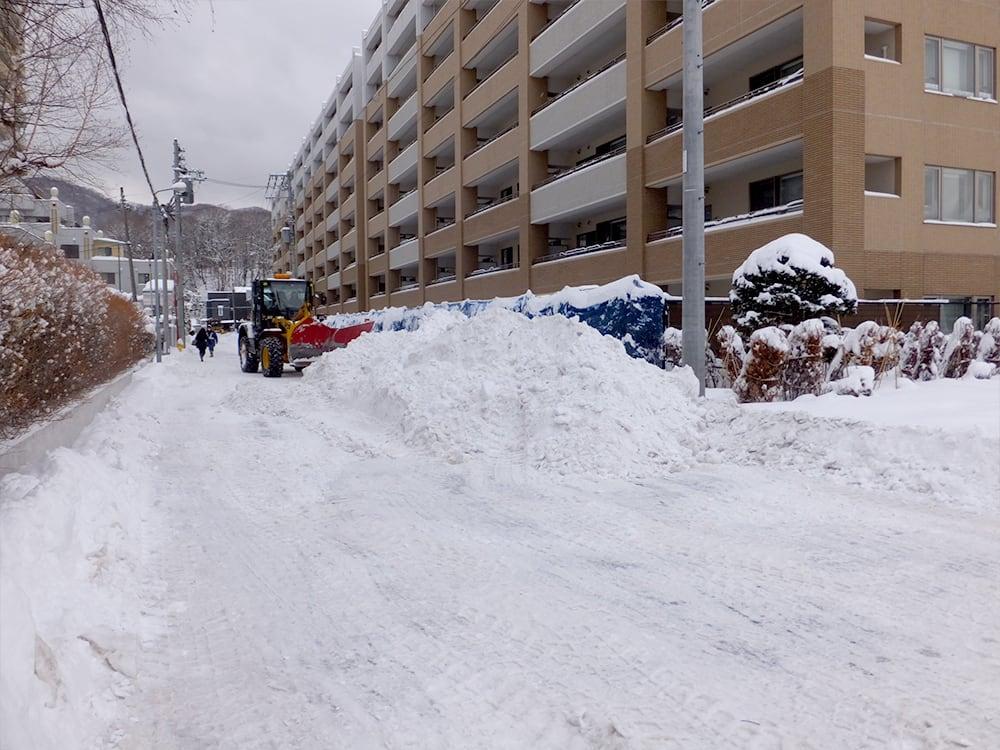 2021.2.27 町内のパートナーシップ排雪