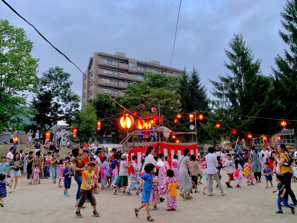 2019.8.7、8.9 夏祭り〜子供盆踊り